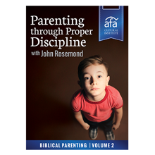 Picture of Cultural Institute: Parenting Through Proper Discipline with John Rosemond On Demand