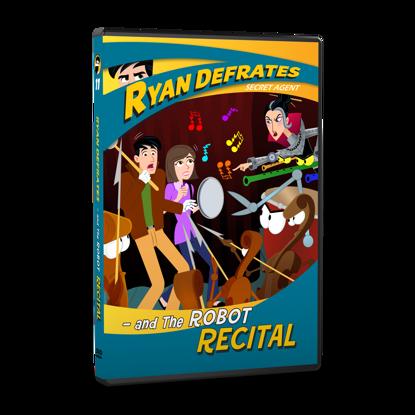 Picture of Ryan Defrates: Secret Agent - Episode 11:  The Robot Recital DVD